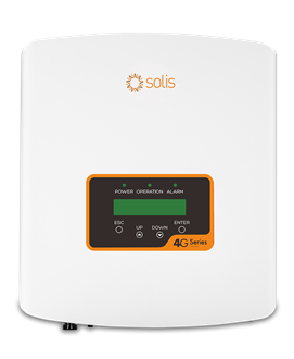Imagem de Inversor Solis Monofasico Mini 3kw - 1 Mppt - Solis-Mini-3000-4g