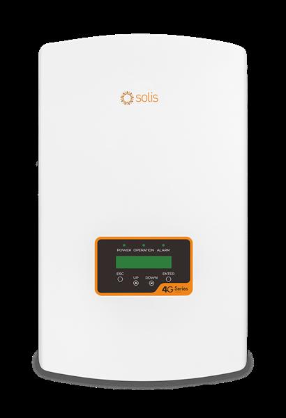 imagem de Inversor Solis Monofasico 5kw - 2 Mppt - Solis-1p5k-4g Wifi