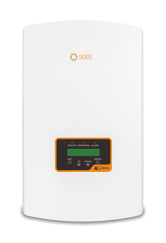 imagem de Inversor Solis Monofasico 7kw - 3mppt - Solis-1p7k-4g Wifi