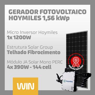 Imagem de GERADOR SOLAR FV WIN - 1,56 KWP - FIBROCIMENTO