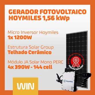 Imagem de GERADOR SOLAR FV WIN - 1,56 KWP - CERAMICO