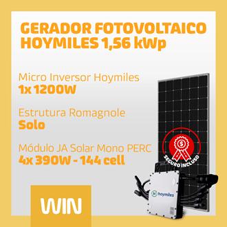 Imagem de GERADOR SOLAR FV WIN - 1,56 KWP - SOLO
