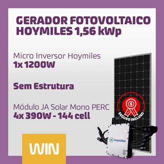 Imagem de GERADOR SOLAR FV WIN - 1,56 KWP - SEM ESTRUTURA