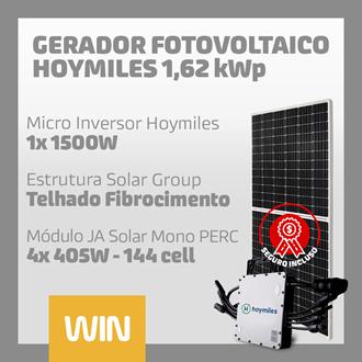Imagem de GERADOR SOLAR FV WIN - 1,62 KWP - FIBROCIMENTO