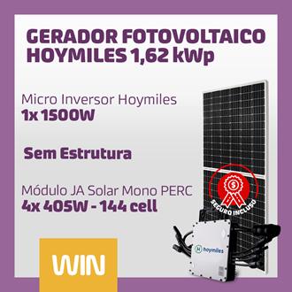 Imagem de GERADOR SOLAR FV WIN - 1,62 KWP - SEM ESTRUTURA