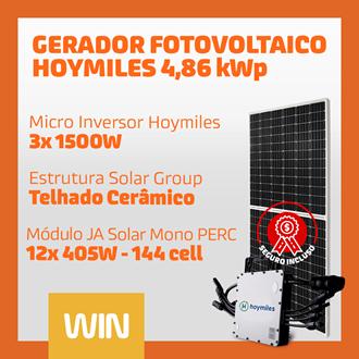 Imagem de GERADOR SOLAR FV WIN - 4,86 KWP - CERAMICO