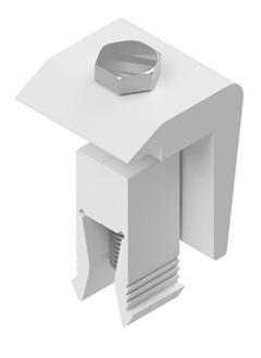 Imagem de Acessorio Solar Group Thunder Metalico/Mini Trilho para 4 Modulos