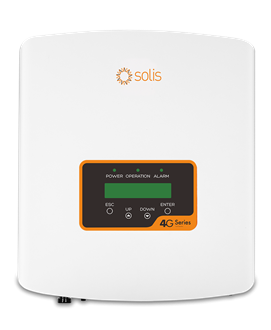 Imagem de Inversor Solis Monofasico Mini 3kw - 1 Mppt - Solis-Mini-3000-4g Wifi