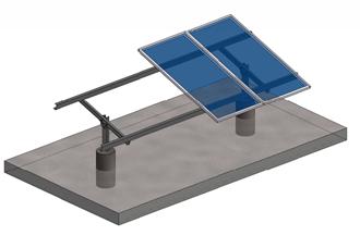 Imagem de Kit P 4 Mod Estrutura de Solo Ch 2.0mm em Aco Estrutural